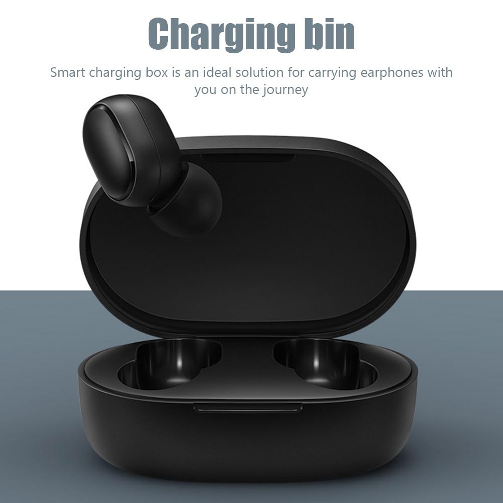300 мАч наушники зарядным футляром Bluetooth беспроводной динамик Bluetooth с USB для подключения кабеля к кабелю для Xiaomi Redmi AirDots наушники зарядное устройство коробка аксессуары|Наушники и гарнитуры| | АлиЭкспресс