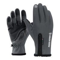 Spor ve Eğlence'ten Avcı Eldivenleri'de Kış sıcak dokunmatik ekran eldiveni taktik çekim bisiklet balıkçılık avcılık av eldivenleri açık spor için