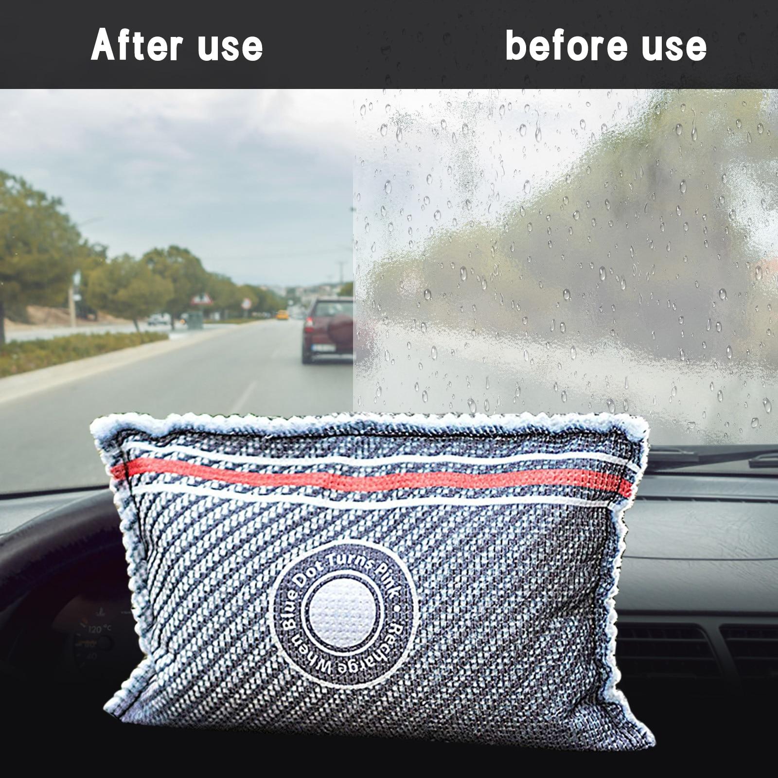 Многоразовые осушения бытовые чистящие средства сушащее вещество может поглощать влагу и конденсации автомобиль номер 1 шт. мешок для осуш...