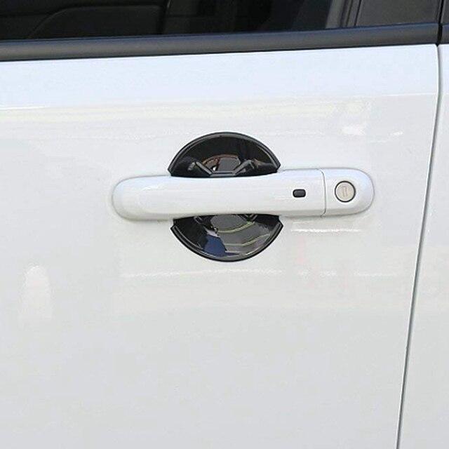 Car Exterior Door Handle Bowl Cover Trim Frame Decor for Jeep Renegade 2016 2017 Car Accessories(4Pcs/Set) 3