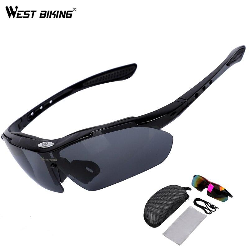WEST RADFAHREN Polarisierte Radfahren Brillen UV400 Photochrome Sport Brille MTB Fahrrad Wandern Brillen Männer Glas Fahrrad Radfahren Gläser