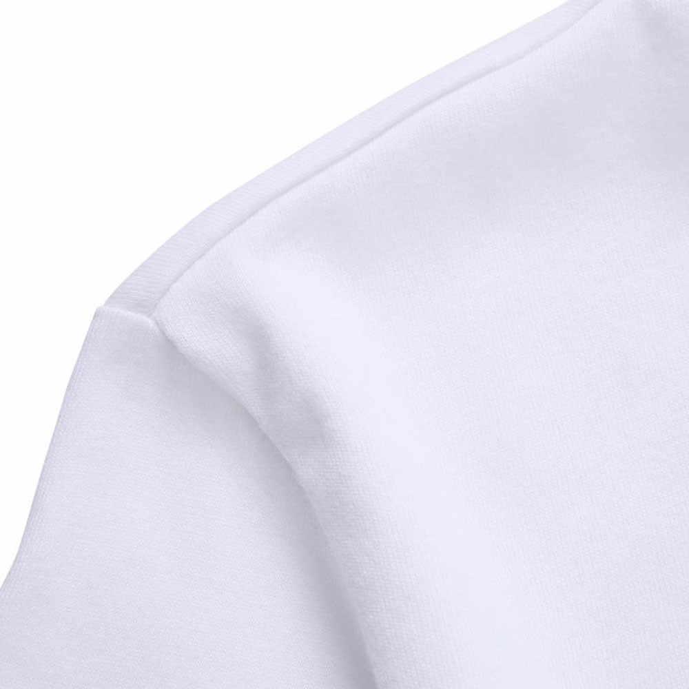 Pria Wanita Kucing Printing Tees Kemeja Unisex Katun Lengan Pendek T Shirt Putih Fashion Sederhana Bernapas Atasan Camisa Masculina # D