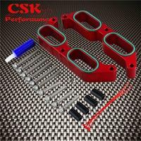 Aluminum Intake Manifold Spacers Fits For 13 17 Subaru BRZ Scion FR S Power Block