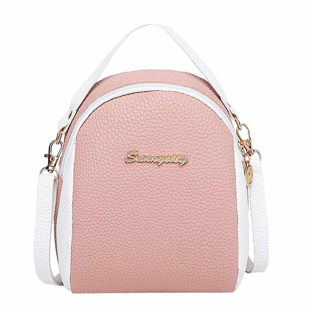 # H40 手紙女性のミニバックパックの高級 Pu レザーかわいいリュックかわいい優雅な Bagpack 小さなのランドセル mochila
