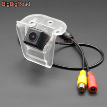 BigBigRoad Vehicle Wireless Car Rear View Backup Parking CCD Camera HD Color Image For Honda Elysion 2012 2013 2014 2015 liislee special rear view camera wireless receiver mirror monitor easy backup parking system for honda city mk5 2007 2013