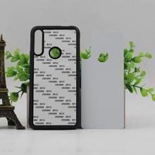 5 Stks/partij Voor Hw Y5 2019/Y6 2019/Y9 2018/Y Serie Case Tpu + Pc Rubber Soft 2D Sublimatie leeg Warmteoverdracht Telefoon Cover Case