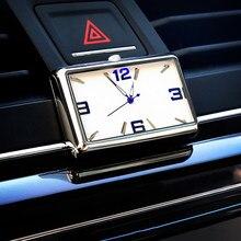 Araba saat kuvars otomobiller İç Stick-On izle yüksek dereceli otomatik araç gösterge paneli zaman göstergesi saat araba aksesuarları