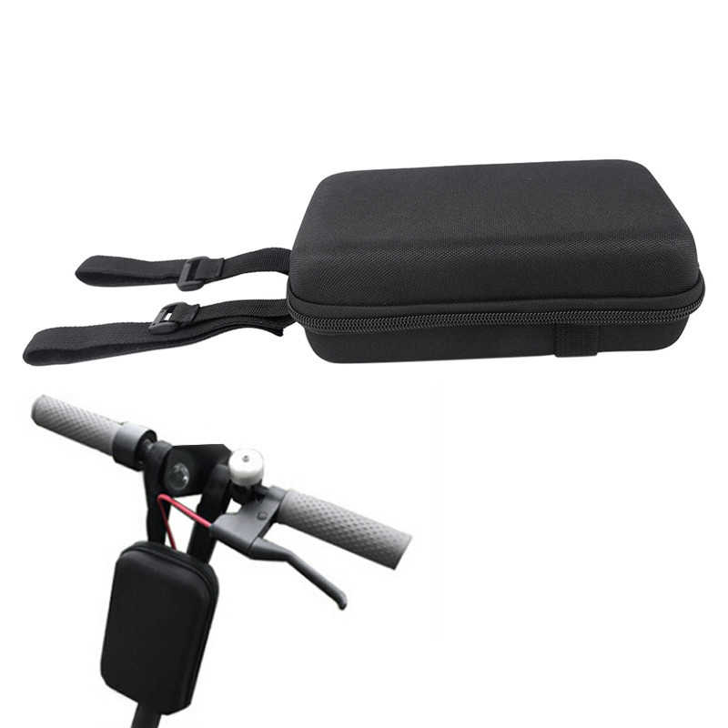 Universal Electric Scooter Skateboard Head Handle Bag Scooter Hanging Bag Front Charger Tools Accessories For Xiaomi Mijia M36
