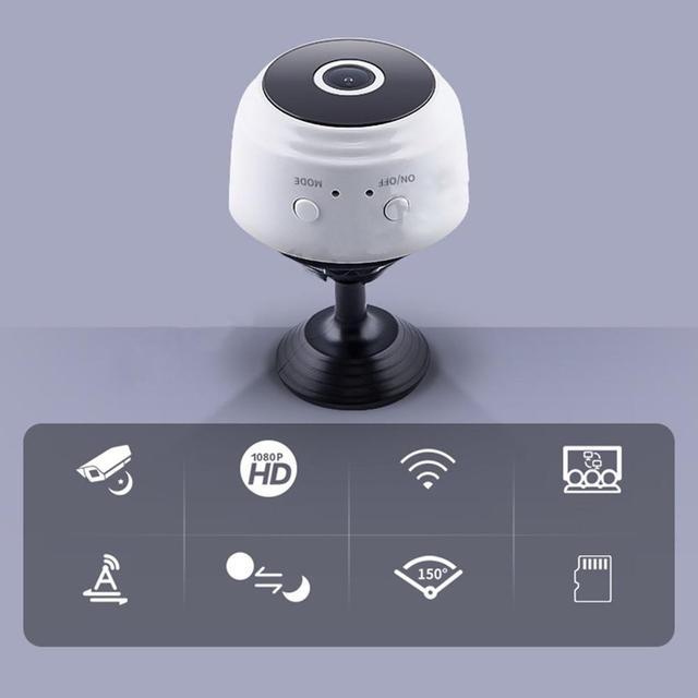 Micro Home Wireless Video CCTV Mini Security Surveillance with Wifi IP Camara Sensor Infrared CMOS 2MP Telefon Alarm Camera 2