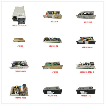 NMX-354-1212V| NTS359| GPC130D| LPS155| LEA50F-12| VPF-S200-48| CSS150-3301| LPS255| LEB225F-0524 G| NFS110-7602| PM200-14C Used