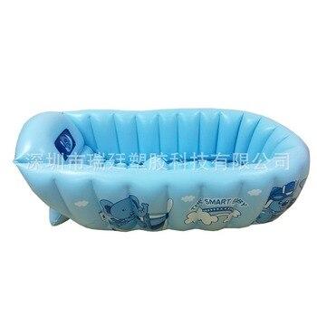 Environmental Protection Non-toxic PVC Inflatable Baby Bathtub Infant Bath Tub Children Bath Tub Bath Tub  Baby Bath Tub munchkin white hot inflatable safety bath tub duck 1 count kids mini playground