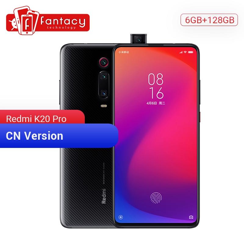 Original xiaomi redmi k20 pro 6 gb 128 gb snapdragon 855 octa núcleo smartphone 6.39