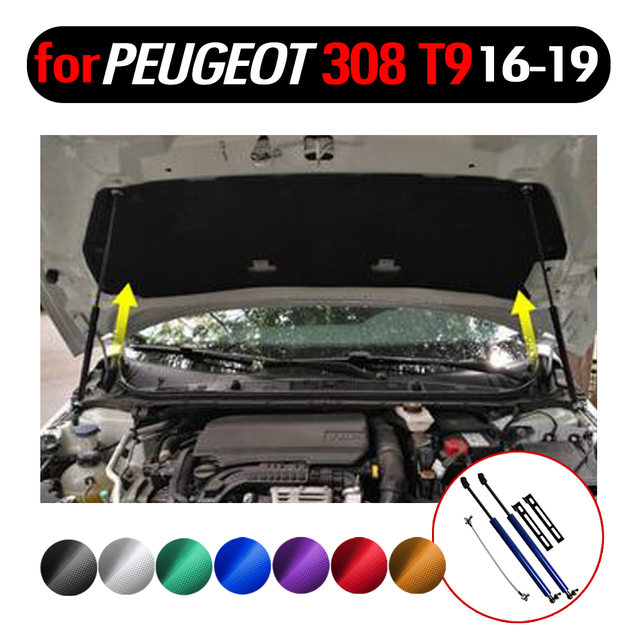 Front Hood Gas Charged Lift Supports Shock Struts Prop Rod For Nissan Terra