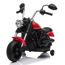 NEW Indoor And Outdoor Children's Electric Motorcycles Kids Electric Ride On Motorcycle With Training Wheels 6V Red