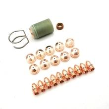 Nozzle-Tip A141 Shield Consumables-Electrode Plasma-Cutting Trafimet PR0101 CV0011 23pcs-A-Lot
