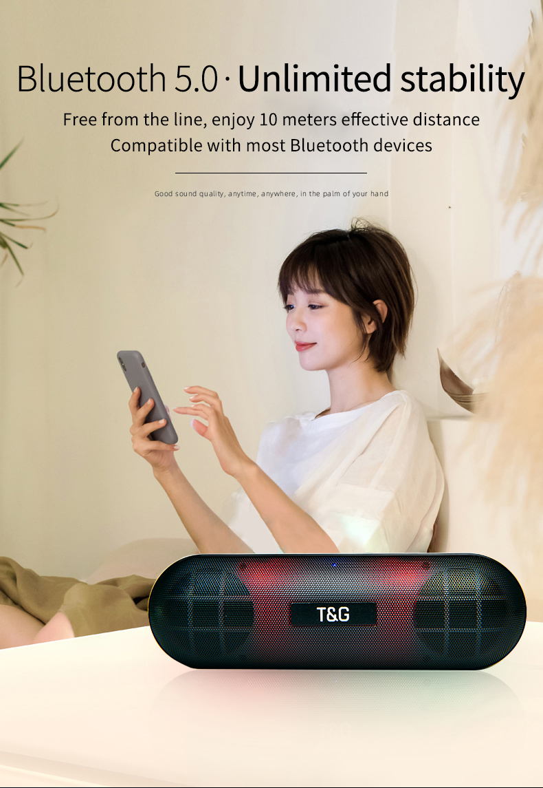 LED Metal Bluetooth Outdoor Speaker-Super Bass H28d2c69efb1b448b90a07eba50bacffc1 speaker