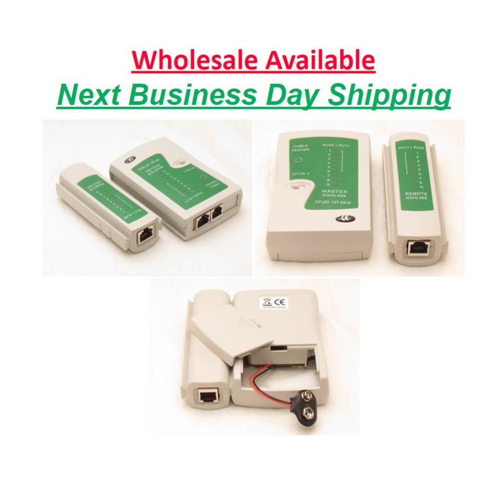 Network Lan Cable Tester Test Rj45 Rj-11 Cat5 Utp Ethernet Tool Cat5 6 E Rj11 8P Portable Network Cable Tester 2