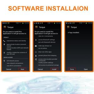 Image 5 - Original viecar leitor de código do carro elm327 obd2 obdii scanner ferramentas de diagnóstico automático sem fio bluetooth 4.0 para ios android windows