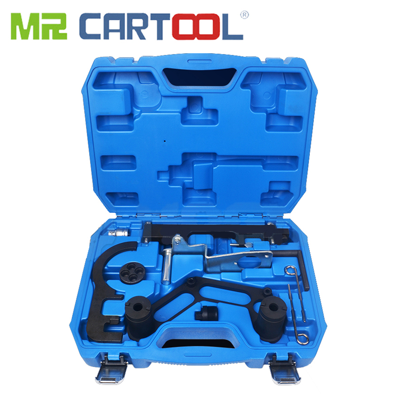 MR CARTOOL Car Engine Timing Tool Set For BMW N47 N47S N57 Diesel Engines Double Camshaft And Crank Balancer Locking Timing Tool