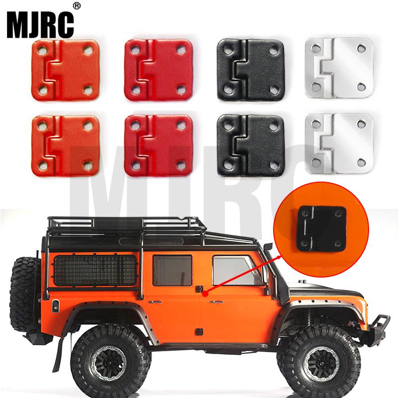 4PCS Trx 4 Colored Metal Door Hinge For 1:10 RC Track Truck Traxxas TRX-4 Defender TRX4 Lily Page