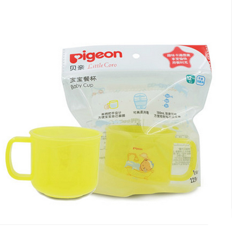 Pigeon/Pigeon CHILDREN'S Tableware Baby Meal Cup DA95 Single Handle Design