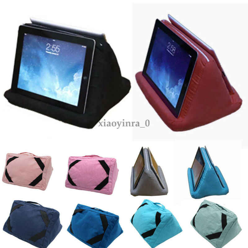 multi angle pillow tablet read holder stand foam lap rest cushion for ipad phone