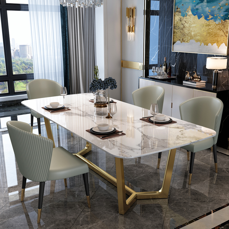 Cucina Letters Kitchen Decor, New Luxury Dining Room Furniture Dining Tables Dining Room Sets 6 Dining Chairs Marble Dining Table Set Modern Dining Tables Aliexpress