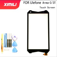 5.7 testé 100% Original Mobile écran tactile verre pour Ulefone Armor 3 3T écran tactile numériseur panneau avant verre lentille capteur