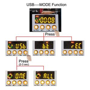 Image 4 - Freeboss AM PSM تيار مستمر 5 فولت امدادات الطاقة USB واجهة 6 قناة 2 مونو 2 ستيريو 16 تأثيرات جهاز مزج الصوت