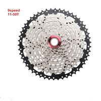 9 속도 카세트 freewheel 11-50 t 도로 사이클링 자전거 스프로킷
