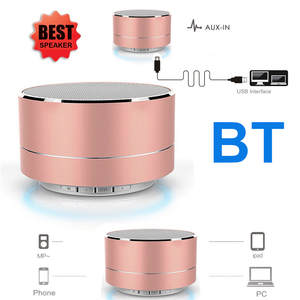 Led-Speaker Bluetooth Mini Mobile-Phone Sound-Music Hands-Free Portable Wireless TF Usb Fm