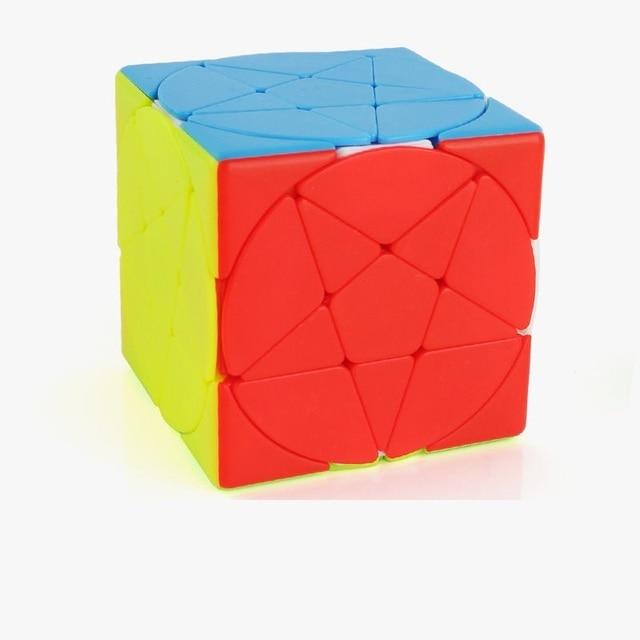 Magic Pentacle Cube Profissional Strange-shape Stars Pentagram Magic Cube Competition Speed Puzzle Cubes Toys For Children Kids 2