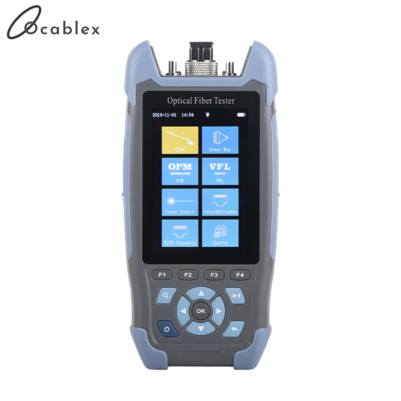 Mini-Pro OTDR Optical Reflectometer 9 Functions In 1 Device OPM OLS VFL Event Map RJ45 Ethernet Cable Tracker