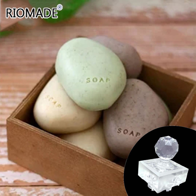 Natural Soap Handmade Stencil Transparent Diy Natural Plexiglass Soap Making Chapter With Handle Acrylic Sealed Custom Stone