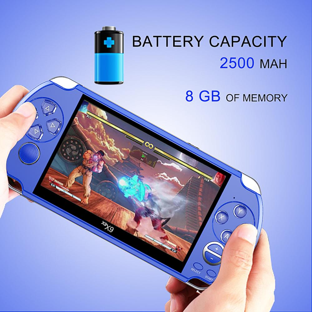 Image 3 - Video Retro Game Console X9 PSVita Handheld Game Player for PSP 