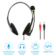 цена на For PS4 PC Computer Gaming Headset Gamer Wired Headphone With Microphone Loud Sound Earphone USB Jack Cascos Music Head Phone