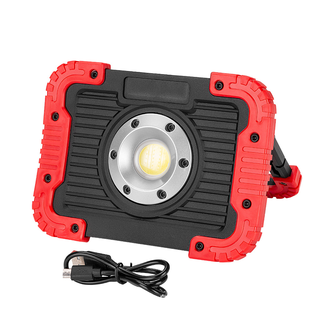 Integrity Ningbo High-Power Camping Portable Work Lights Cob Emergency Inspection Lamp Waterproof Outdoor Camping Light