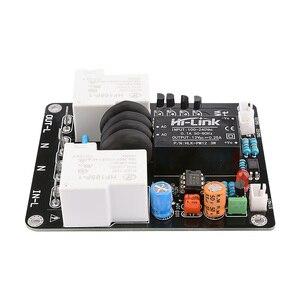 Image 3 - AIYIMA 2000W High Power Soft Start Board 30A Dual Temperatuur Schakelaar Vertraagde Start Board Voor Versterker Amp DIY