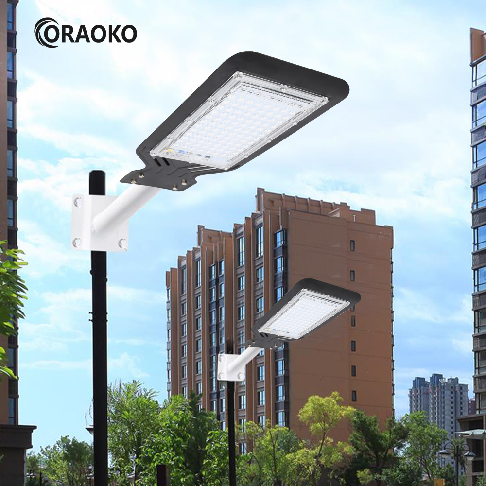 Led Street Light Area Parking Lot Yard Barn Outdoor Wall 220V 100W Lamp Industrial Garden Square Highway Farola Road