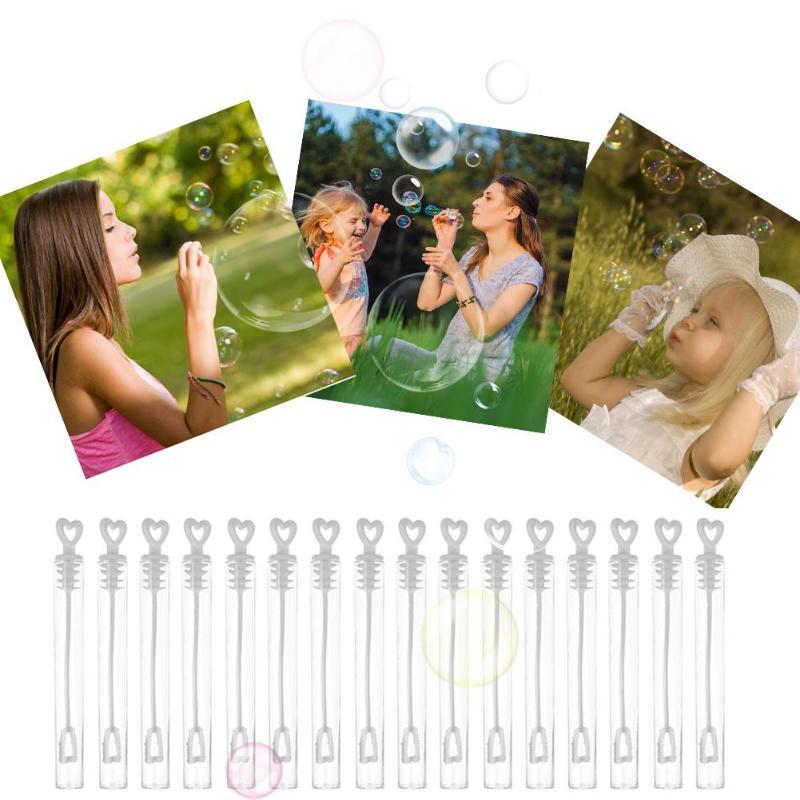 60/100 pçs bubble maker garrafas vazias criativo festa de casamento decoração vazio bolha sabão garrafas prop crianças brinquedos engraçados