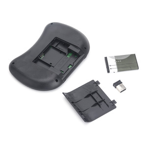 Image 5 - Novo 2014 rato de ar 92 chave mini portátil 2.4ghz inglês layout teclado touchpad mouse controle remoto do jogo teclado sem fio