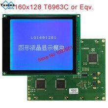 LCD מודול 160X128 160128 תצוגת מסך כחול T6963C LG1601281BMDWH6V תואם WG160128E