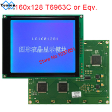 LCD modul 160X128 160128 display bildschirm blau T6963C LG1601281BMDWH6V kompatibel WG160128E