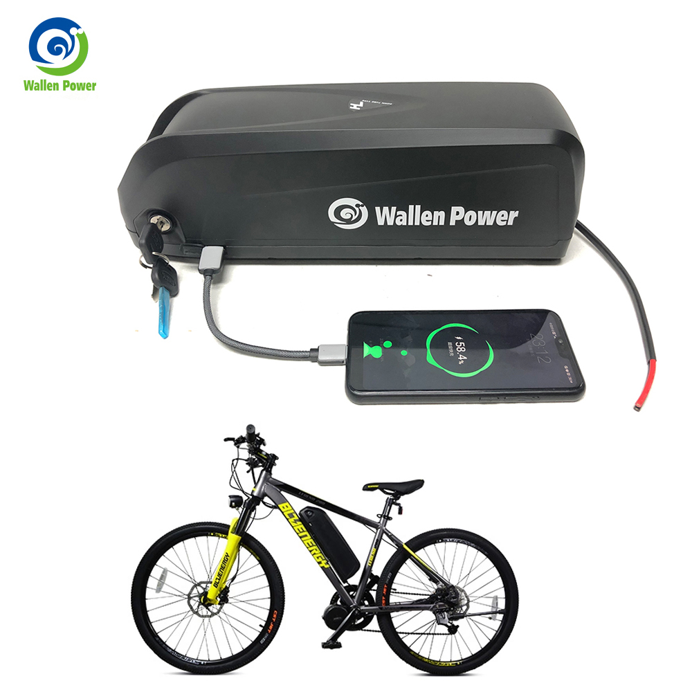 Electric bike battery 36V 10AH 15AH 52V 13AH 17.5AH Hailong Lithium ebike 48V Battery for Bafang bicycle 1000w 500w motor