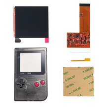FUNNYPLAYING FOR GBP/GBL IPS LCD RETRO PIXEL KIT HIGH LIGHT BACKLIGHT BRIGHTNESS  36 retro color combinations FOR GAMEBOY POCKET