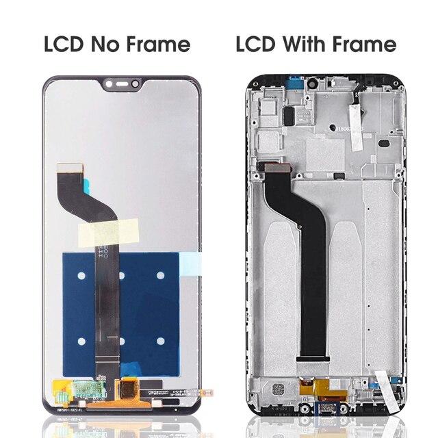 5.84 écran pour Xiaomi Mi A2 Lite LCD écran tactile avec cadre remplacer pour Xiaomi Redmi 6 Pro écran tactile Mi A2 Lite lcd