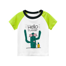 boys long sleeve t shirts for children 2017 autumn pure color t shirt cotton 1 15t kids clothing baby girls tops tees clothes Children T Shirt  Kids Summer Boys Girls Tops And Tees Toddler  Short Sleeve  Print Top T-shirt Clothes Clothing Baby
