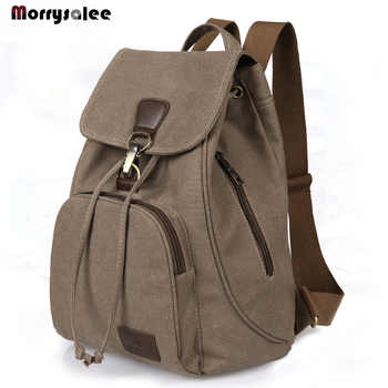 Men Canvas Backpack  Men bag Fashion Backpacks School Backpack Travel Backpack - DISCOUNT ITEM  0% OFF All Category