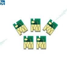 5 PIÈCES T6190 Puce De Réservoir de Maintenance Pour Epson Stylus Pro 4900 4910 SureColor P5000 P5080 B300 B300DN B-310N B500 B510DN Imprimante