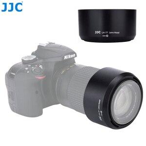 Image 1 - غطاء عدسة الكاميرا JJC لنيكون AF P DX نيكور 70 300 مللي متر f/4.5 6.3G ED VR/AF P DX نيكور 70 300 مللي متر f/4.5 6.3G ED يستبدل HB 77